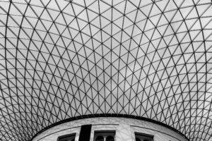 glazed roof grid